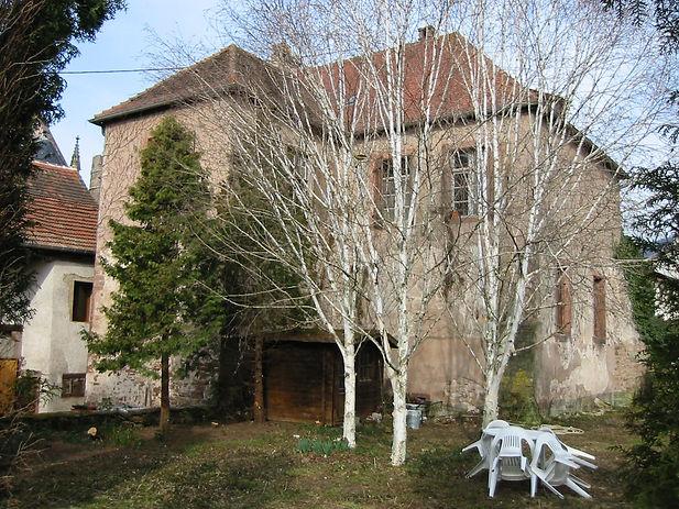 Aménagement du presbytère d'OBERHASLACH en appartements locatifs