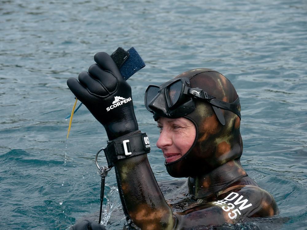 Глубинные соревнования по фридайвингу Лазурная глубина 2021