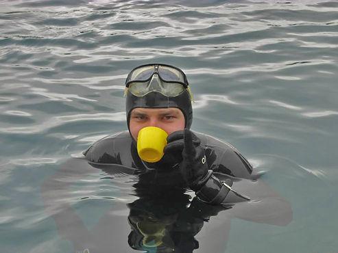 Вода для фридайвера и подводного охотника