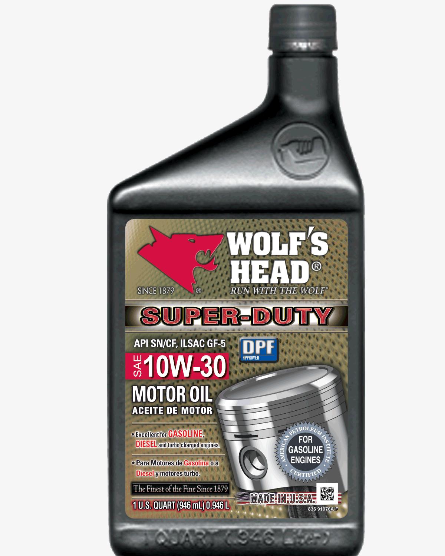 Wolf's Head Super Duty 10w30