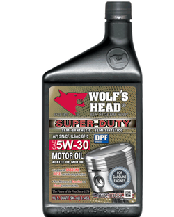Wolf's Head Super Duty 5w30