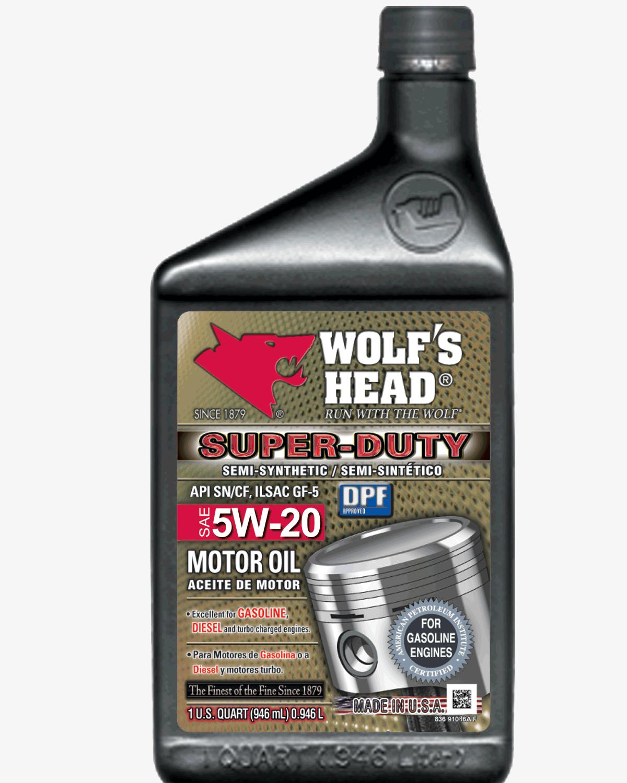 Wolf's Head Super Duty 5w20