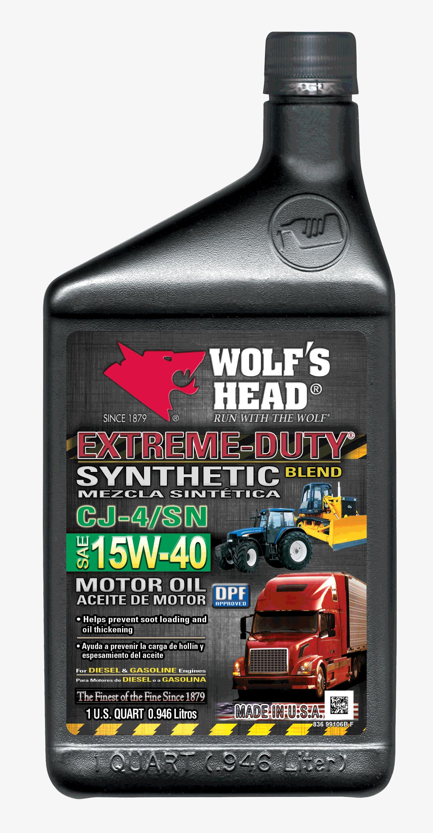 Wolf's Head Extreme Duty 15w40
