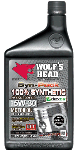 Wolf's Head 100% Synthetic 5w30
