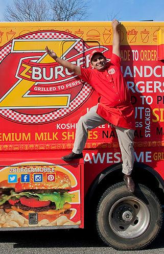 Z-Burger Truck Side