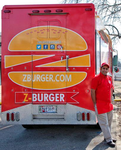 Z-Burger Truck Back