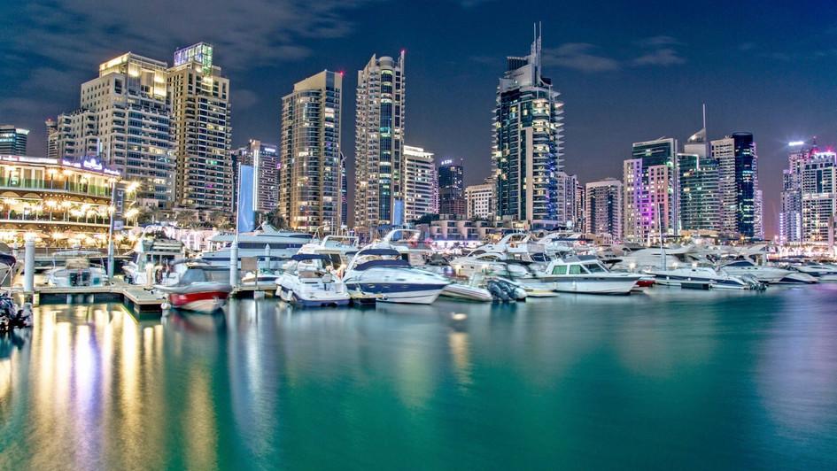 دبي - منطقة المارينا