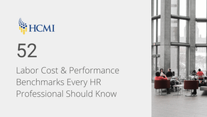 52 Labor Cost and Performance Benchmarks Every HR Professional Should Know