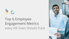 Top 6 Employee Engagement Metrics every HR Team Should Track