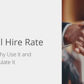Internal Hire Rate: What It Is, Why Use It, and How to Calculate It