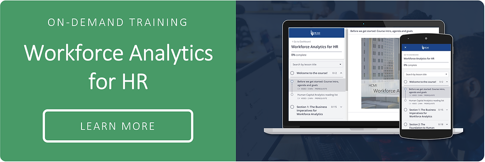 Workforce Analytics for HR On - Demand Training