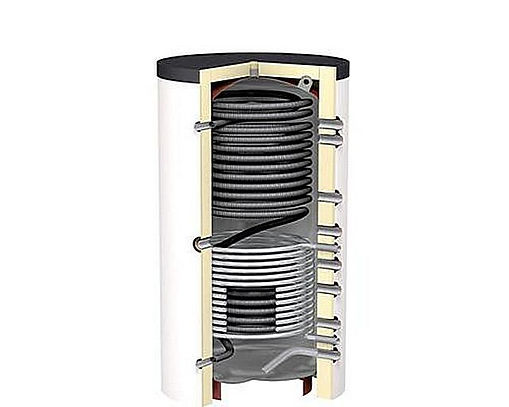 Использование буферной емкости в системах отопления и горячего водоснабжения обеспечивает бесперебойную подачу нагретого теплоносителя к отопительным приборам независимо от того, работает ли котел в данный момент или нет.  Тепловой аккумулятор позволяет также повысить эффективность работы всей системы, увеличить ресурс оборудования и значительно снизить расход энергоресурсов на обогрев помещений и ГВС.  Наибольший эффект от применения ТА заметен в системе, работающей на основе твердотопливного обогревательного котла. Это позволяет добиться значительной экономии топлива (до 25-30%) и увеличить КПД котла до 85%. Приобрести готовый бак-аккумулятор можно в магазине либо изготовить его самостоятельно. При этом важно правильно рассчитать его емкость и другие технические параметры, а также правильно подключить буферный накопитель к системе отопления.
