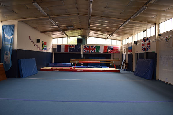 Wirral Gym Club floor and beam