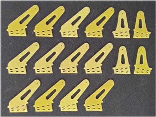 Conjunto de Horns 50cc/TurboProp Heavy Duty