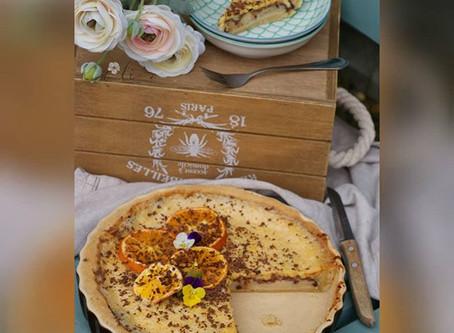 Orange - Chocolate Tart