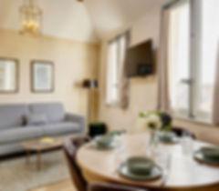 Duplex Spacieux 2 chambres | Location Courte Durée proche du Louvre | Apartments du Louvre