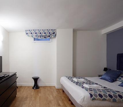 Habitación | Espaciosa suíte de vacaciones cerca del Louvre | Apartments du Louvre Saint Honoré