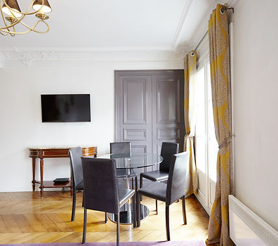Salón | Gran apartamento turístico de 2 dormitorios | Apartments du Louvre Le Marais