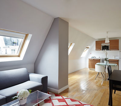 1 bedroom rooftop holiday apartment | Apartments du Louvre