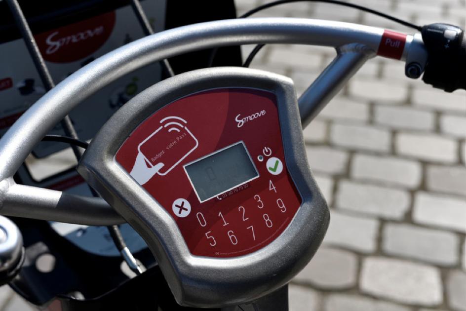 GPS Trackers on the Next Gen Velibs in Paris