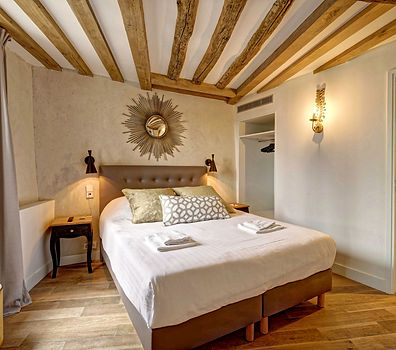 Chambre | Appartement 2 chambres court séjour à Paris | Apartements du Louvre