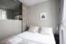 Chambre | Appart fonctionnel 1 chambre courte durée | Apartements du Louvre