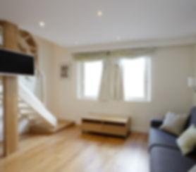 Spacious shot term rental duplex apartment | Apartments du Louvre