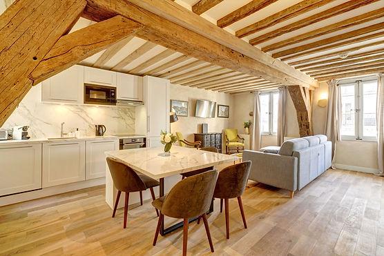 Alquiler temporário espléndido 2 dormitorios | Apartments du Louvre Saint Honoré