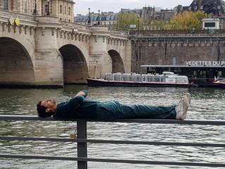 A Delightful Riverside Park in Paris