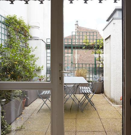Terrasse | Location penthouse à Paris en courte durée | Apartments du Louvre
