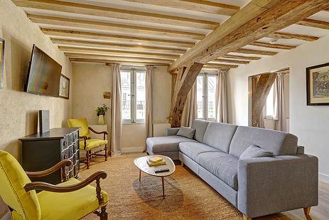 2 bedroom short stay apartment in Paris | Apartments du Louvre