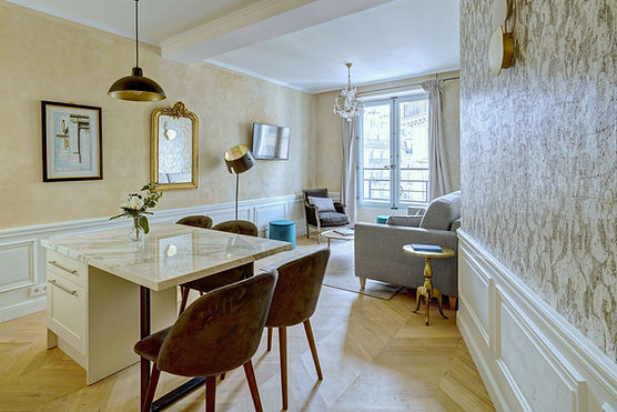 Living Room | Gorgeous 1 bedroom short stay flat | Apartments du Louvre