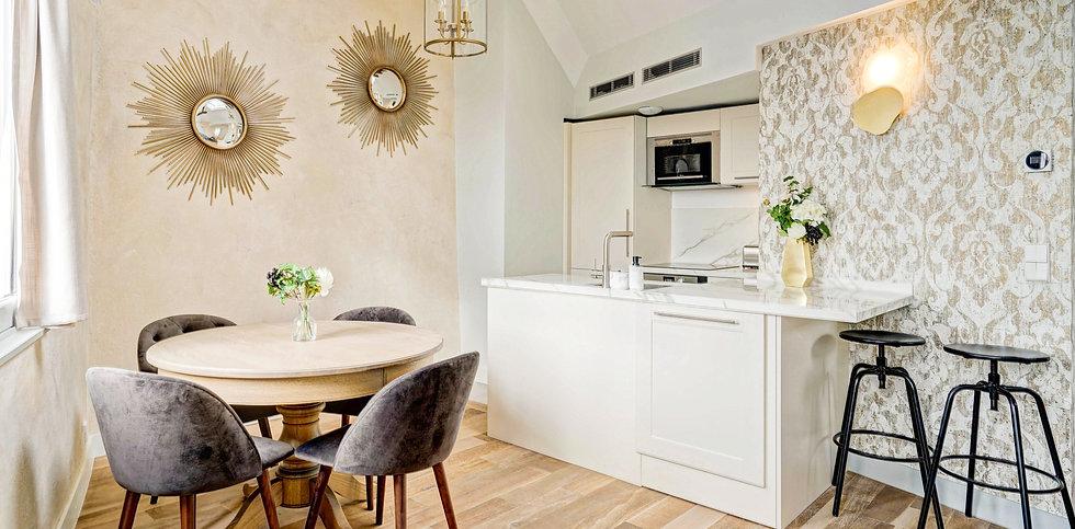 Open Kitchen | Spacious duplex holiday apartment | Apartments du Louvre