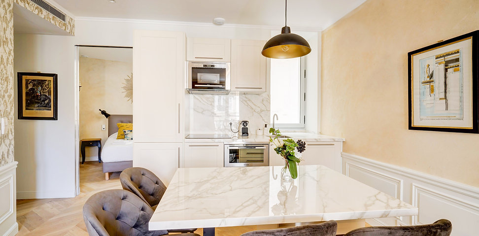 Kitchen | Gorgeous 1 bedroom short stay flat | Apartments du Louvre