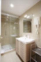 Salle de bain | Appart fonctionnel 1 chambre courte durée | Apartements du Louvre