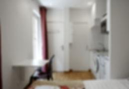 Quiet short stay studio apartment in Le Marais | Apartmens du Louvre