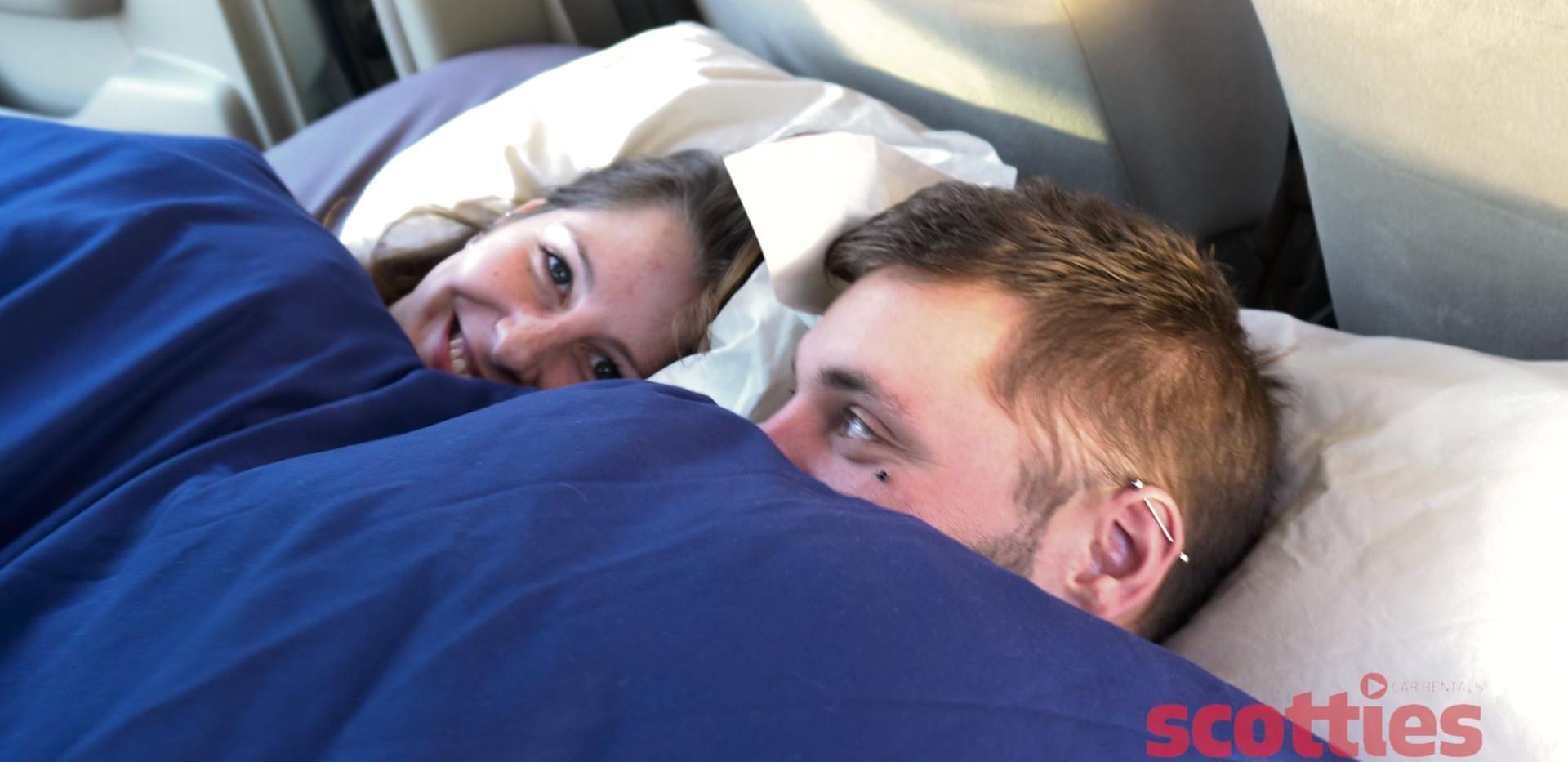 Sleep time in the camper car