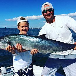 Sarasota family fishing chartes father son