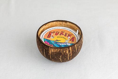 Frangipani Coconut Bowl Candle