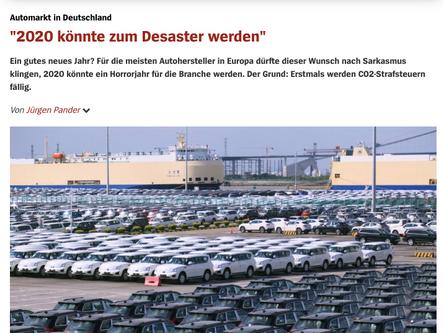 Trends zum Automarkt Deutschland: Spiegel online vs. meine Vorhersagen