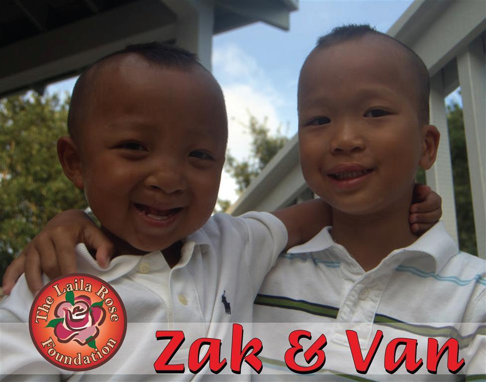 Zak and Van