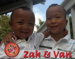 Zak and Van
