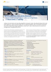 25. 09. bis 01. 10. 2022: Exklusives IntuVision Segelseminar, Kroatien