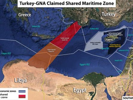Battlefield in the eastern Mediterranean?