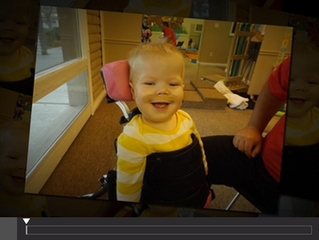 Video: New LRF Child Receives Therapy