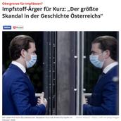 Bundeskanzler Sebastian Kurz kurz vor dem Fall?!
