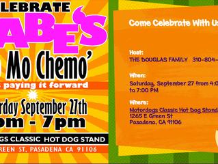 Celebrate Gabe's 'No Mo Chemo' Event!