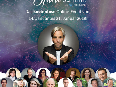 Grosser Spirit Summit 2019 online Kongress!