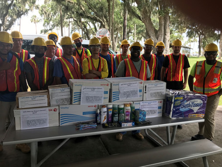 Mayport NAVSUP Lends a Hand to Clay County Community Outreach