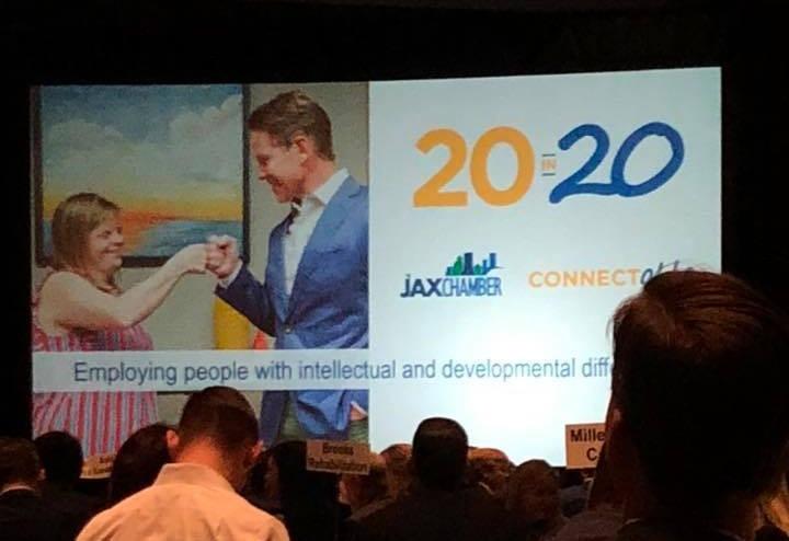 JAX Chamber announcement of 20 in 20 initiative